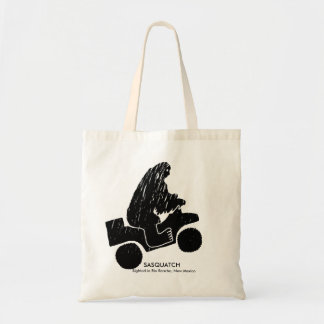 Sasquatch Sighted in Rio Rancho, New Mexico Tote Bag