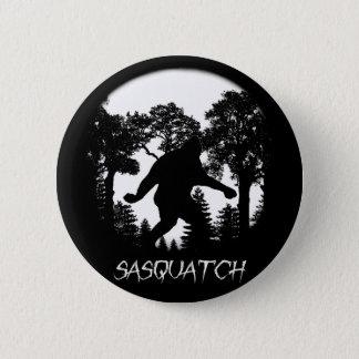 Sasquatch Silhouette 2 Inch Round Button