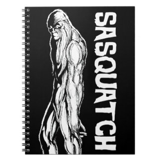 Sasquatch Spiral Notebook
