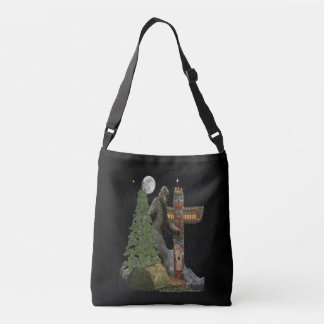 Sasquatch t-shirts crossbody bag