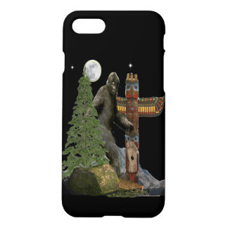 Sasquatch t-shirts iPhone 8/7 case