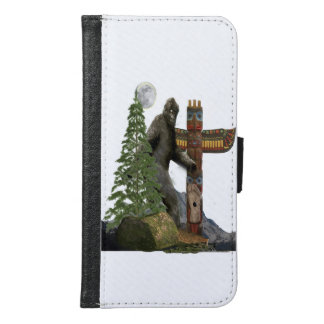 Sasquatch t-shirts samsung galaxy s6 wallet case