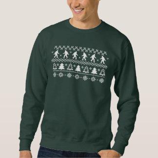 Sasquatch Ugly Christmas Sweater Sweatshirt