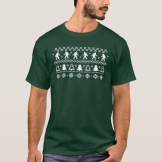 Sasquatch Ugly Christmas Sweater T-shirt