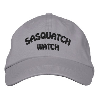 Sasquatch Watch Embroidered Cap Embroidered Baseball Cap