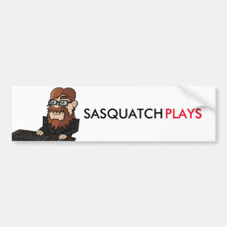 SasquatchPlays Bumper Sticker