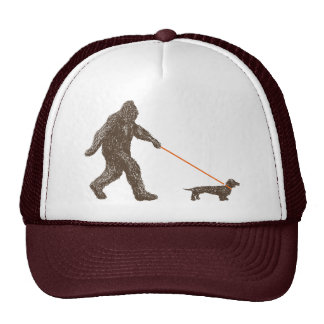 Sasquatch's Best Friend Trucker Hat