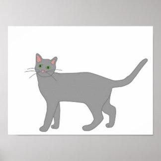 Sasquatch's Cat Poster
