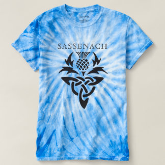 Sassenach - Celtic Thistle - custom T-shirt