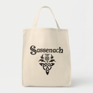 Sassenach - Celtic Thistle Tote Bag