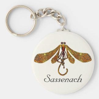 Sassenach Dragonfly Keychain