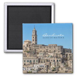 Sassi di Matera city in Italy Magnet
