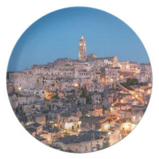 Sassi Di Matera, Italy Plate