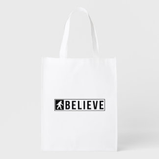 Sassquatch Believe Reusable Grocery Bag
