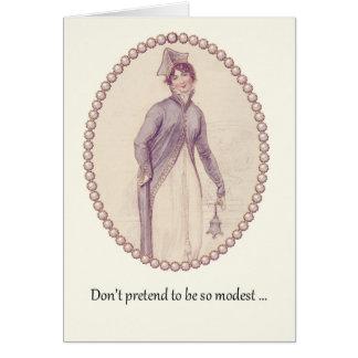 "Sassy Ackerman Woman ""You Know You're Fabulous"" Card"