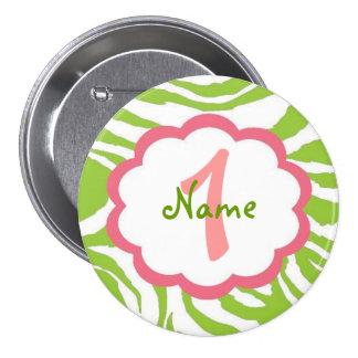 Sassy Baby Girl1st Birthday Button
