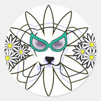 Sassy Beagle Classic Round Sticker