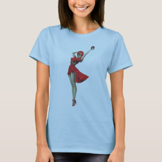 Sassy Betty Zombie Pin Up Girl T-Shirt