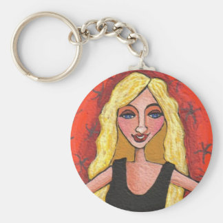 Sassy Blonde - keychain