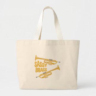 Sassy Brass Large Tote Bag