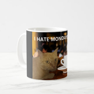 sassy cat coffee mug