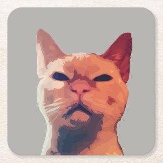 Sassy Cat Drink Coaster