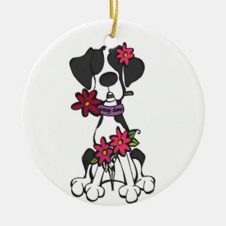Sassy Dane Ornament