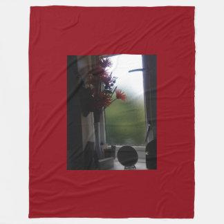 Sassy Flowers Fleece Blanket