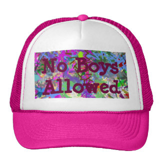 Sassy Fun Color Maze Sissy Girl Camo Colorful Girl Trucker Hat