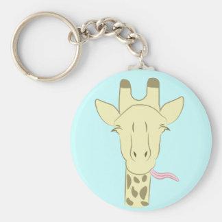 Sassy Giraffe Key Chain
