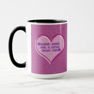 Sassy Heart Mug