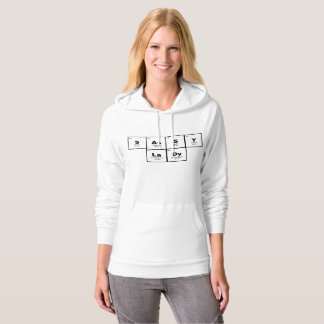 """""""Sassy Lady"""" periodic table of elements hoodie 3"""