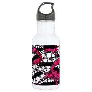 Sassy lips bling abstract 532 ml water bottle