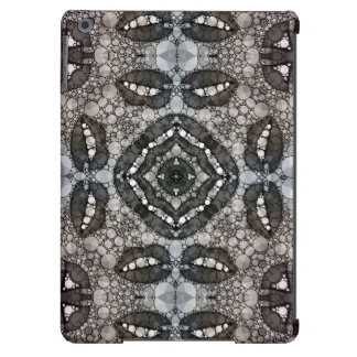 Sassy Lips Blk&Wht Bling iPad Air Covers