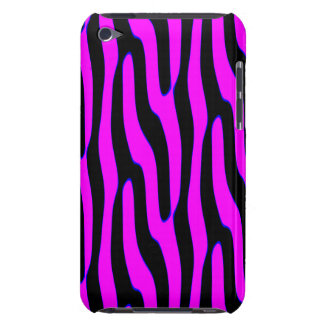 Sassy Neon Pink Wild Animal Print iPod Touch Cover