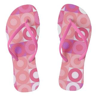 Sassy Pink Flip Flops