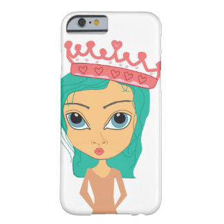 Sassy Princess with crown iPhone 6/6s Case