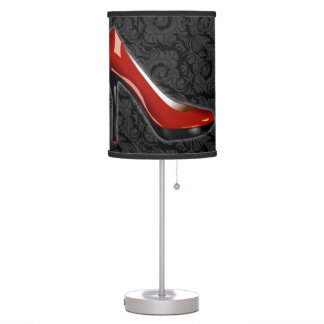 Sassy Red Shoe Table Lamp