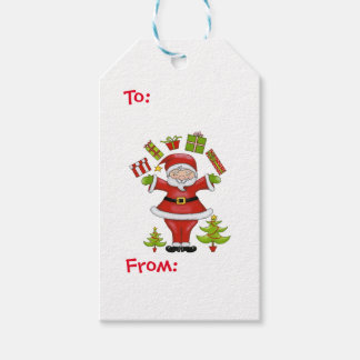 Sassy Santa Gift Tags
