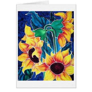 Sassy Sunflowers Card