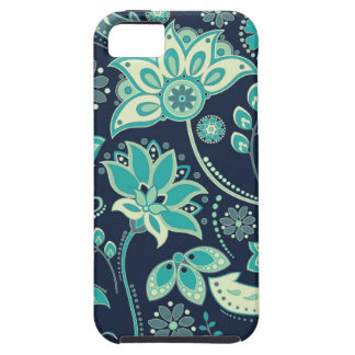 Sassy Suzani in Teal Mate Tough iPhone 5/5S Case