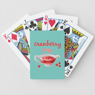 Sassy Thanksgiving Poker Deck