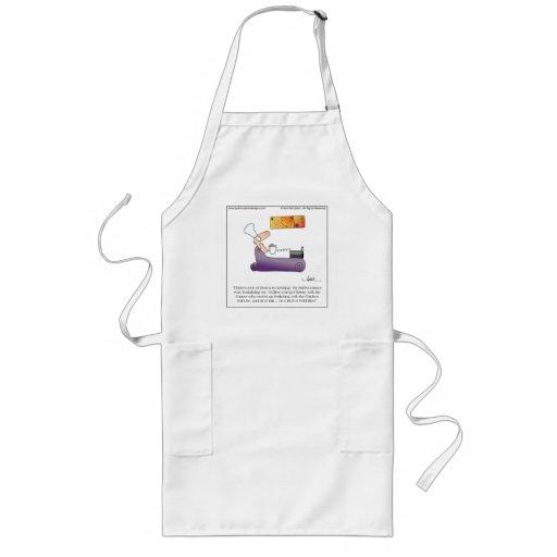 SASSY TRUFFLES Chef's Apron by April McCallum