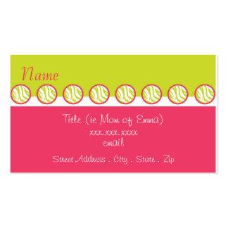 Sassy Zebra Mommy Card Business Card