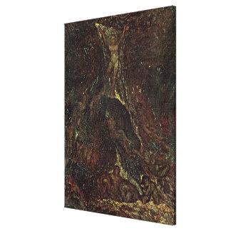 Satan Calling up his Legions Canvas Prints