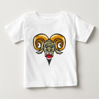 Satan Horned Beast Sketch Baby T-Shirt