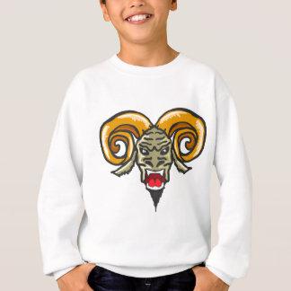 Satan Horned Beast Sketch Sweatshirt