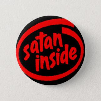 Satan Inside 2 Inch Round Button