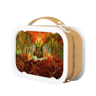Satan inspiring the world lunch box