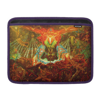Satan inspiring the world MacBook sleeve